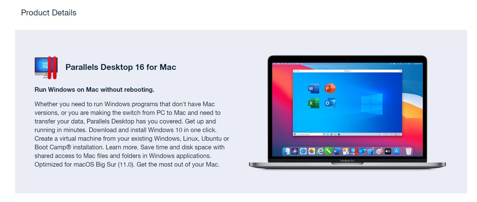 Parallels Desktop + 10 Mac Apps For FREE Bundle