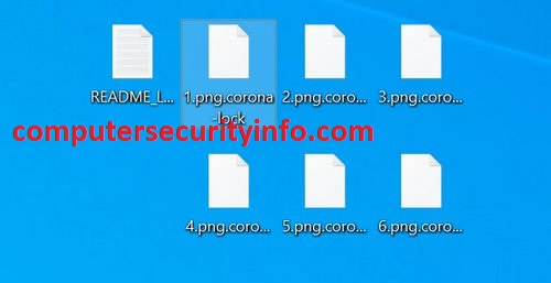 CORONA-LOCK Ransomware, Computer Security, Computersecurityinfo.com